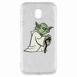 Чехол для Samsung J3 2017 Master Yoda