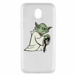 Чехол для Samsung J5 2017 Master Yoda