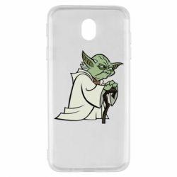 Чехол для Samsung J7 2017 Master Yoda