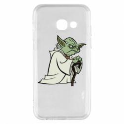 Чехол для Samsung A3 2017 Master Yoda