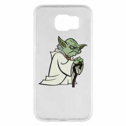 Чехол для Samsung S6 Master Yoda