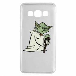 Чехол для Samsung A3 2015 Master Yoda