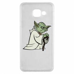Чехол для Samsung A3 2016 Master Yoda