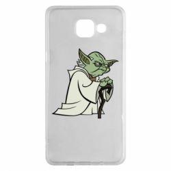 Чехол для Samsung A5 2016 Master Yoda