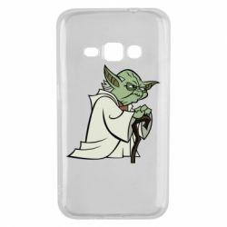 Чехол для Samsung J1 2016 Master Yoda