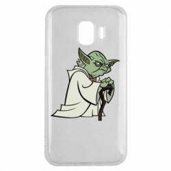 Чехол для Samsung J2 2018 Master Yoda