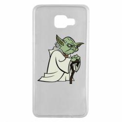 Чехол для Samsung A7 2016 Master Yoda