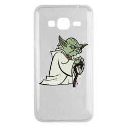 Чехол для Samsung J3 2016 Master Yoda