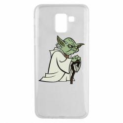 Чехол для Samsung J6 Master Yoda