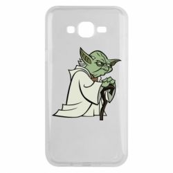 Чехол для Samsung J7 2015 Master Yoda