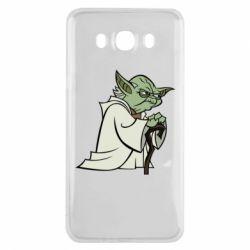 Чехол для Samsung J7 2016 Master Yoda