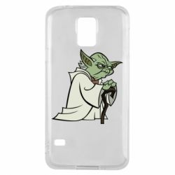 Чехол для Samsung S5 Master Yoda