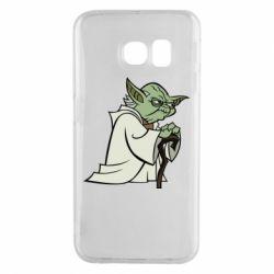 Чехол для Samsung S6 EDGE Master Yoda