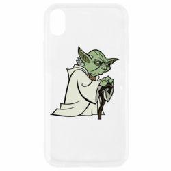 Чехол для iPhone XR Master Yoda