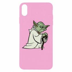 Чехол для iPhone Xs Max Master Yoda