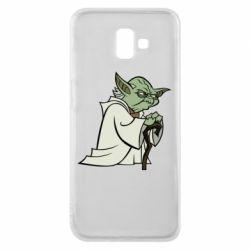 Чехол для Samsung J6 Plus 2018 Master Yoda