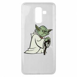Чехол для Samsung J8 2018 Master Yoda