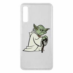 Чехол для Samsung A7 2018 Master Yoda