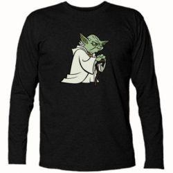 Футболка с длинным рукавом Master Yoda - FatLine