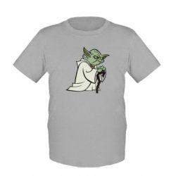 Детская футболка Master Yoda - FatLine