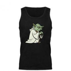 Мужская майка Master Yoda