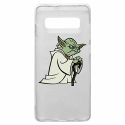 Чехол для Samsung S10+ Master Yoda