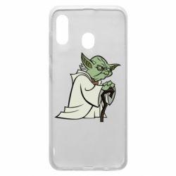 Чехол для Samsung A20 Master Yoda