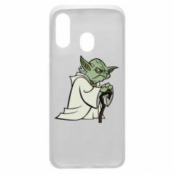 Чехол для Samsung A40 Master Yoda
