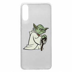 Чехол для Samsung A70 Master Yoda