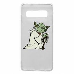 Чохол для Samsung S10 Master Yoda
