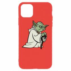 Чехол для iPhone 11 Master Yoda