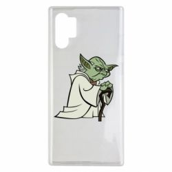 Чехол для Samsung Note 10 Plus Master Yoda
