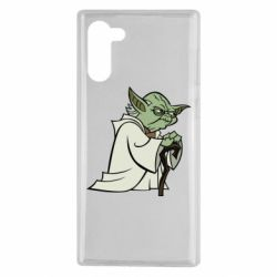 Чехол для Samsung Note 10 Master Yoda