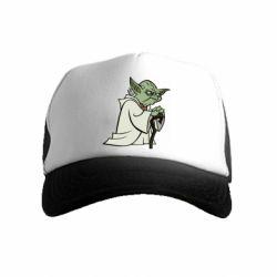 Дитяча кепка-тракер Master Yoda