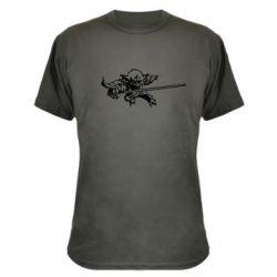 Камуфляжная футболка Master Yoda - FatLine