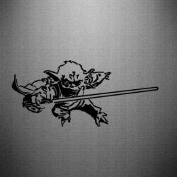 Наклейка Master Yoda - FatLine