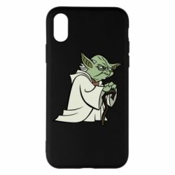 Чехол для iPhone X/Xs Master Yoda