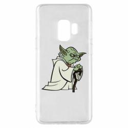 Чехол для Samsung S9 Master Yoda