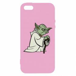 Чохол для iphone 5/5S/SE Master Yoda