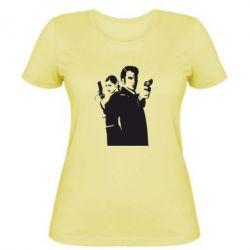 Женская футболка Max Payne 2 - FatLine