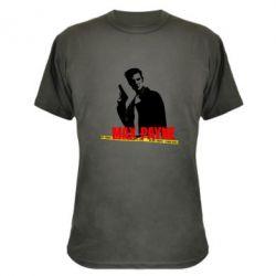 Камуфляжная футболка Max Payne
