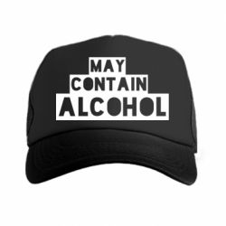 Кепка-тракер May contain alcohol