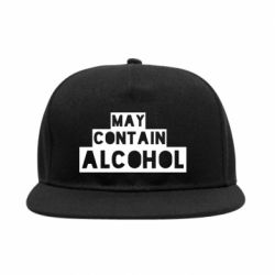 Снепбек May contain alcohol