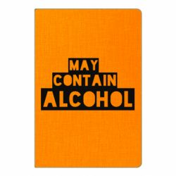 Блокнот А5 May contain alcohol