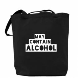 Сумка May contain alcohol
