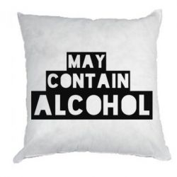 Подушка May contain alcohol