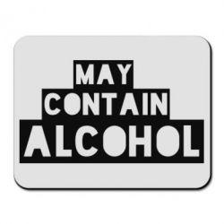 Коврик для мыши May contain alcohol
