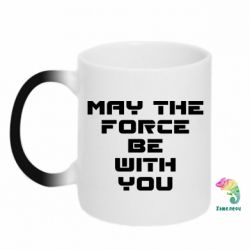Кружка-хамелеон May the force be with you