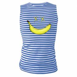 Майка-тельняшка Banana smile
