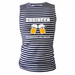 Майка-тільняшка Engineer Powered By Beer